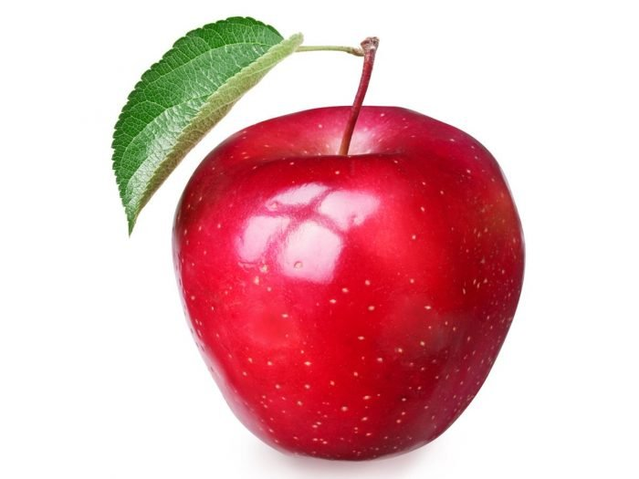 Apple rich in quercetin