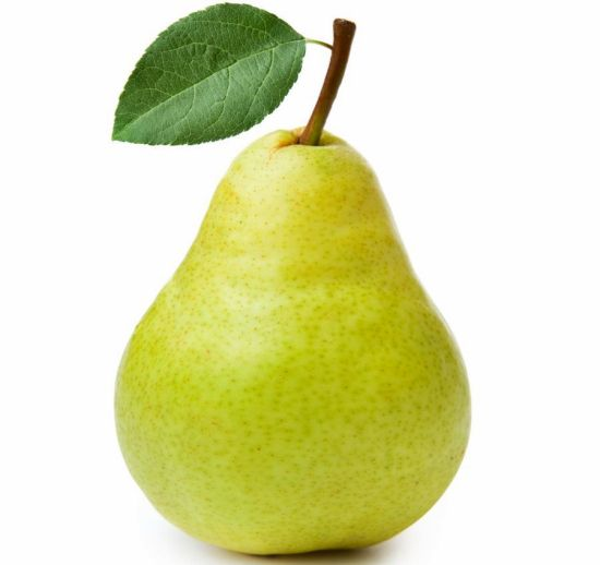 Nutritional Value of Lemon and Pear
