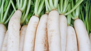 White radish or daikon