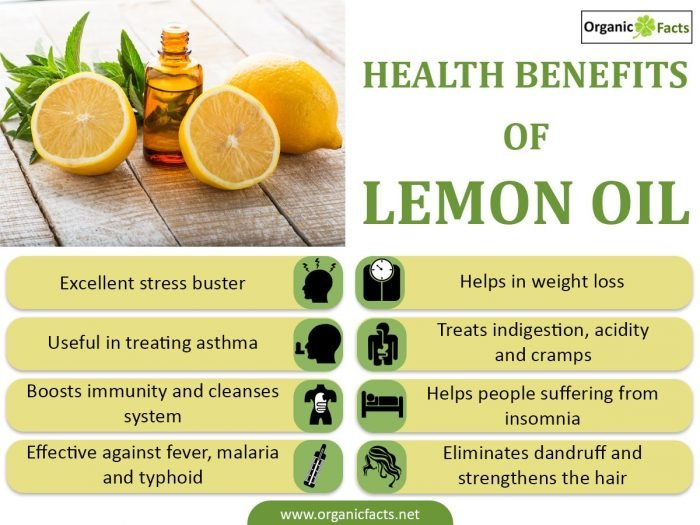 10 Amazing Benefits Of Lemon Oil Organic Facts