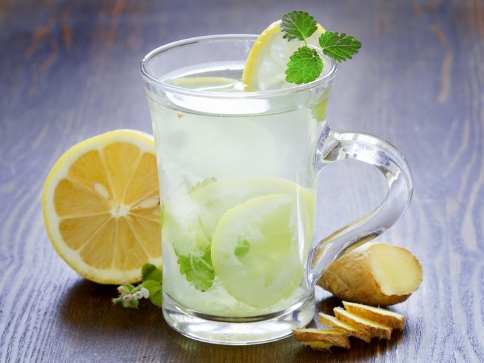 Image result for Lemon Water