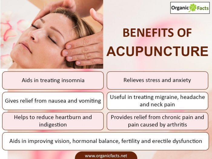 Health Benefits Of Acupuncture Organic Facts