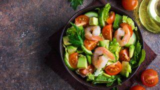 Avocado Shrimp Salad With Zesty Dressing