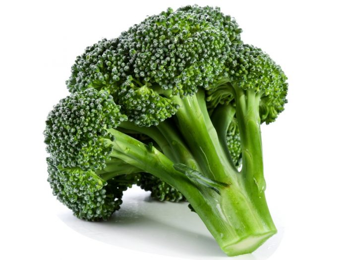 Broccoli rich in vitamin B