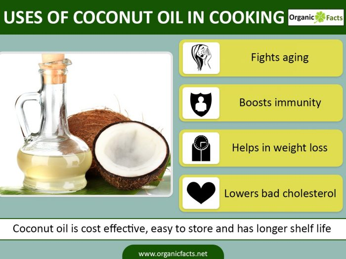 Uses of coconut oil in cooking coconut vietnam for Best oil for frying fish