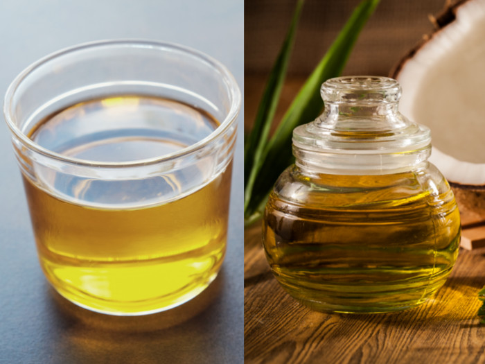 Coconut oil and mct oil