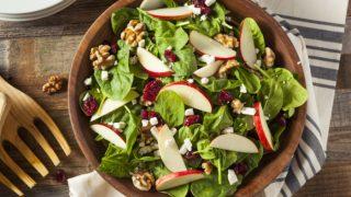 Crunchy Apple Cranberry Walnut Salad Recipe