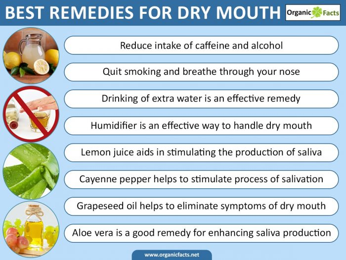 12 effective remedies for dry mouth organic facts