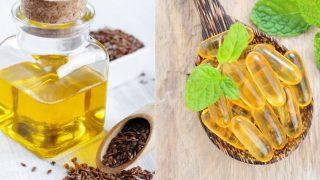 Flaxseed Oil vs Fish Oil