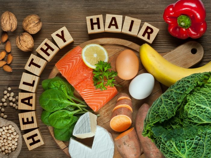 10 Amazing Foods For Healthy Hair Organic Facts