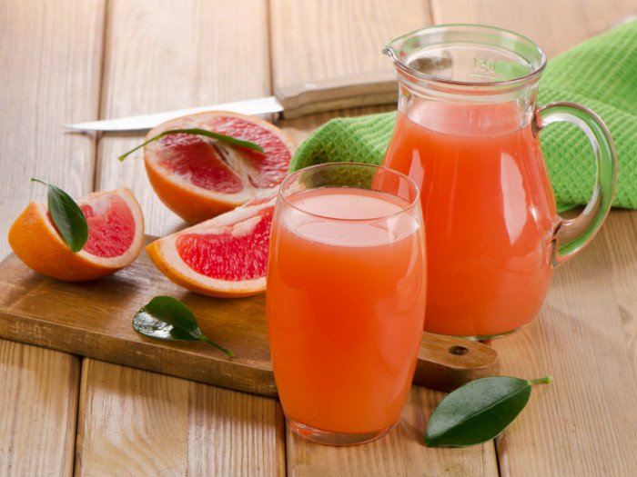 Fizzy Citrus Kombucha Drink