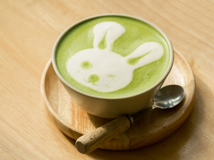 How To Prepare Green Tea Latte At Home Organic Facts