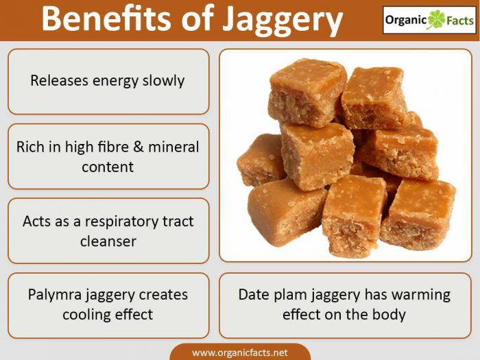 jaggery good for health