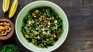 An Easy Recipe Of Kale & Quinoa Salad