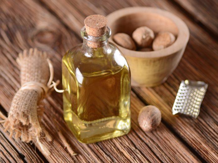 Oil of nutmeg