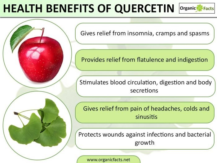 how to treat allergies naturally with quercetin benefits