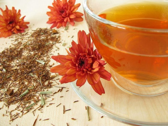 Benefits of herbal peach tea - Rooibostea