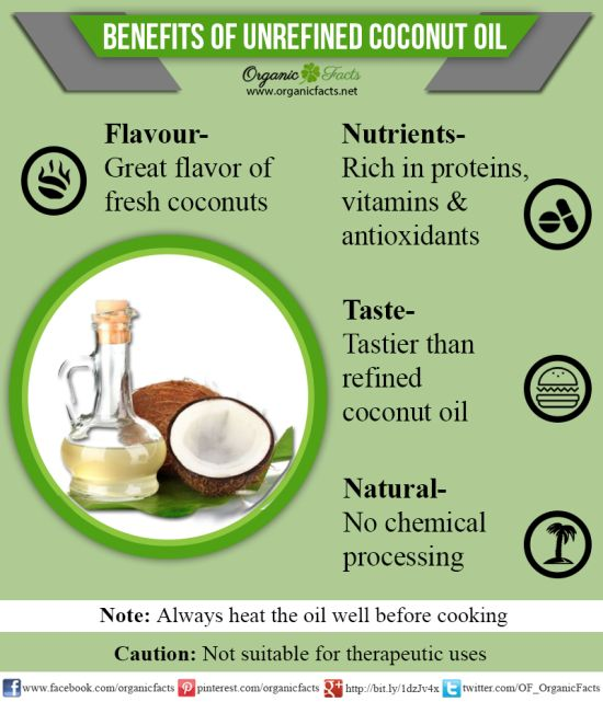 unrefinedcoconutoilinfographic