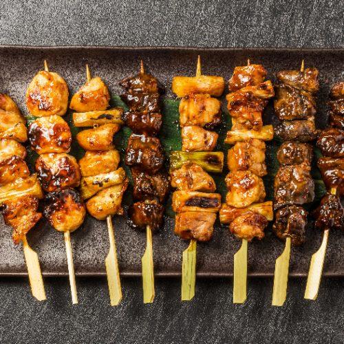 Japanese chicken barbecue or yakitori